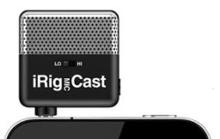 IK Multimedia Presents iRig MIC Cast