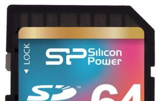 Silicon Power Launches the 64GB SDXC UHS-I Class10 Memory Card