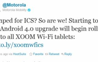 Android 4.0 Update Available for Motorola Xoom Wi-Fi