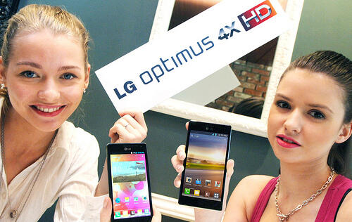 LG's Quad-Core Android 4.0 Smartphone Confirmed as Optimus 4X HD