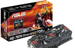 ASUS Launches Radeon HD 7970 Graphics Cards with Custom Cooler - Finally!