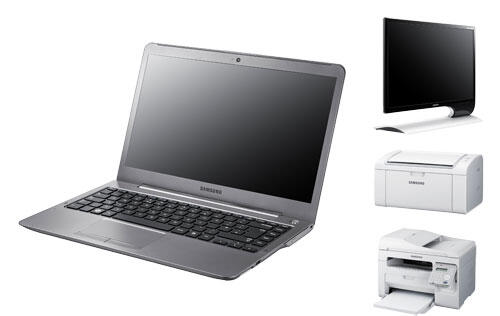Samsung's Ultrabook Imminent along with New Monitors and Printers