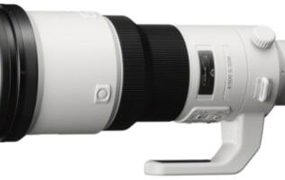 Sony Announces Its 500mm Super-telephoto SAL500F40G Lens