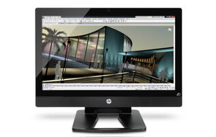 HP Introduces World's First 27-inch All-In-One Workstation