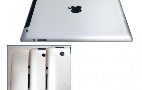 iPad 3 to Have More Tapered Edges and 8-Megapixel Camera?