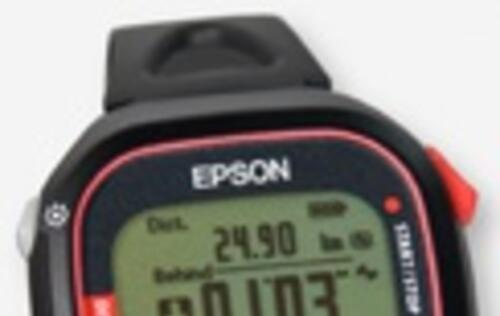 Epson Develops World's Lightest GPS Running Monitor