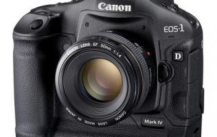 Canon EOS 1D Mark IV - What's next for DSLRs?