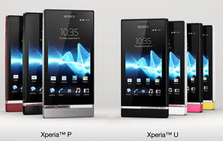 Sony Xperia P and U Official with Dual-core Processors