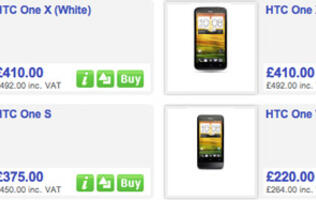 HTC One Devices Priced in UK