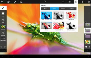 Adobe Releases Photoshop Touch for iPad 2
