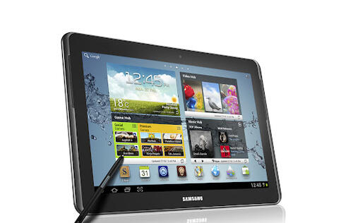 Samsung Announces Galaxy Note 10.1 Tablet at MWC 2012