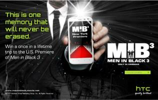 Buy Any HTC Device for a Chance to Win a Trip to the US Premiere of MIB3