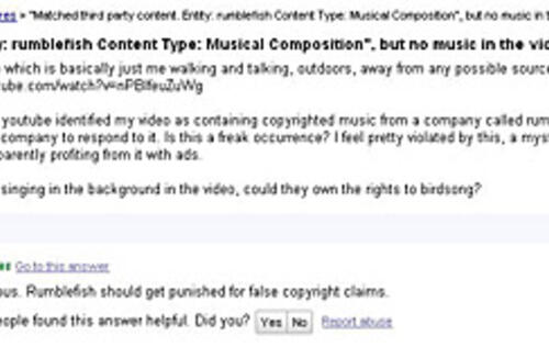 Can You Own the Copyright to Bird Songs?
