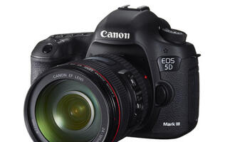 Canon 5D Mark III Announced with Brand New 22MP Sensor and Digic 5+ Processor