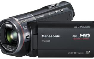 Seven New Panasonic HD Camcorders Announced