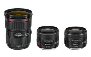 Canon Announces Three New EF Lenses & EOS Accessories