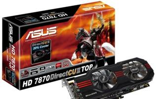 ASUS HD 7800 TOP Graphics Cards Run Quieter and Cooler with DirectCU II