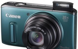 Canon Packs Power into Six New PowerShot Cameras