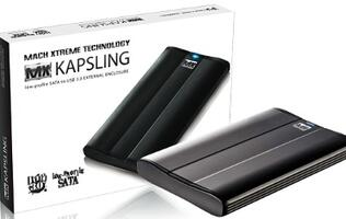 Mach Xtreme Kapsling Series External Enclosure for MacBook Air 2010/2011 Launched
