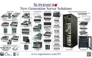 Supermicro Launches 100+ New Generation Server Solutions