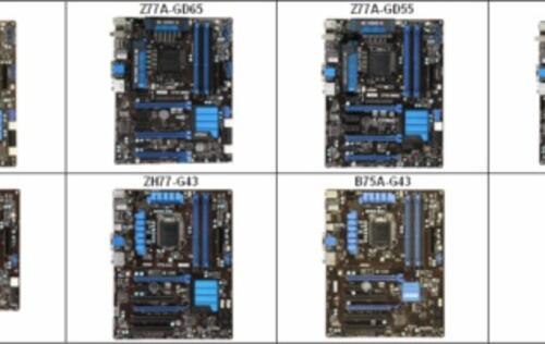 MSI Launches Intel Z77/H77/B75-based Motherboards at CeBIT 2012