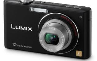First Looks: Panasonic LUMIX FX48