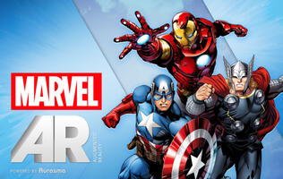 Marvel Announces Augmented Reality App