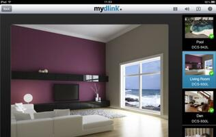 mydlink+ App for iPad and Android Tablets Enables Remote Home Monitoring