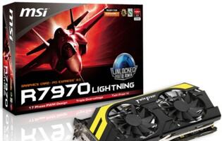 MSI R7970 Lightning Graphics Card Announced