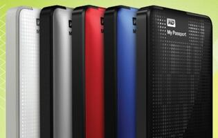 WD Ships First 2TB Portable Hard Drive with My Passport