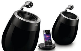 Philips Fidelio SoundSphere DS9800W Docking Speakers - High Fidelity At A High Price