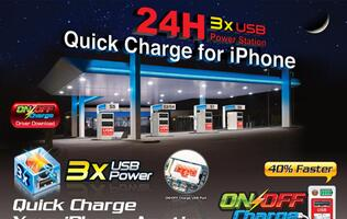 Gigabyte On/Off Charge Technology Supports Quick Charging of New Apple iPad