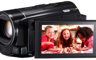 Canon LEGRIA Lineup with Social Sharing Capabilities Unveiled