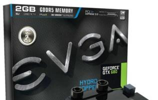 EVGA GeForce GTX 680 Hydro Copper Announced