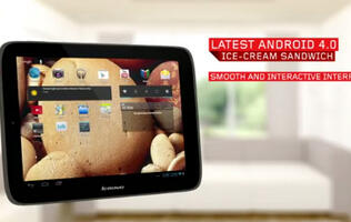 Lenovo Introduces IdeaTab S2109 Tablet With Android 4.0