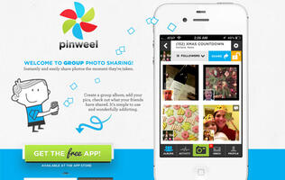 Share Group Photos with Pinweel