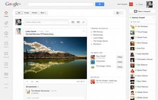 Google+ Gets a Major Facelift
