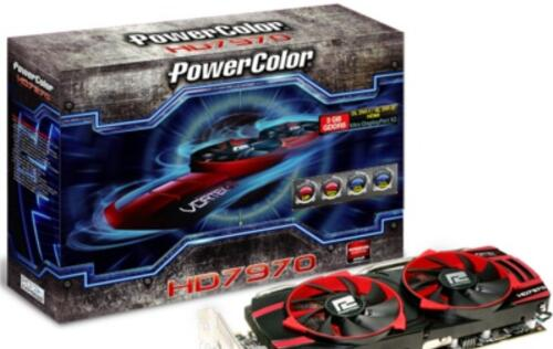 PowerColor Introduces Vortex II Cooler Equipped Radeon HD 7970 and 7870