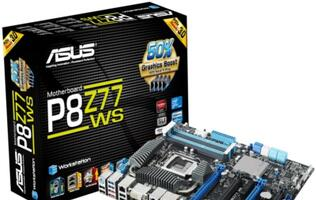 ASUS P8Z77 WS Motherboard Launched