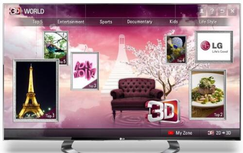 LG 3D World Provides Next Gen 3D Content Service