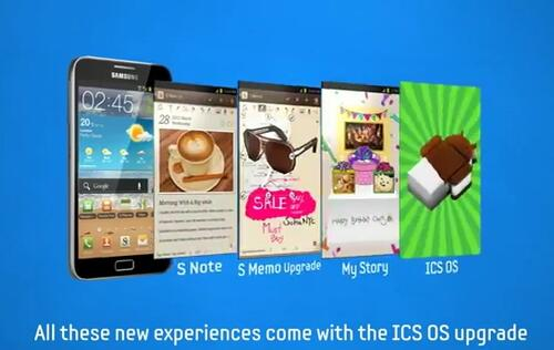 Samsung Showcases Premium Suite Apps in Galaxy Note Video