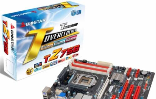 BIOSTAR TZ75B Motherboard Announced