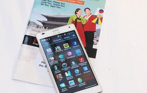 LG Optimus 4X HD Available in White
