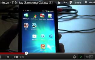 Video of Samsung Galaxy S III Surfaces
