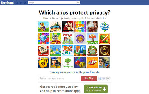 Free Tool Analyzes Privacy Policies of Facebook Apps