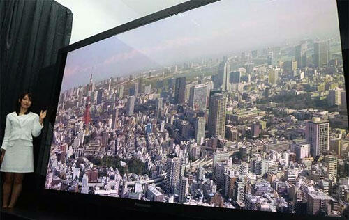Panasonic Teams Up with NHK on 145-inch Super Hi-Vision Plasma TV