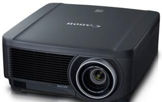 Canon XEED WUX5000 Multimedia Projector Features 360-degree Projection