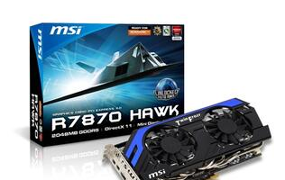 MSI R7870 Hawk Takes Flight!