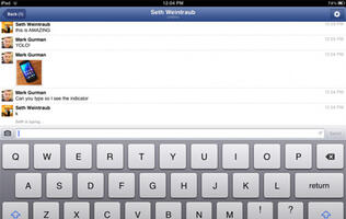 iPhone Facebook Messenger Getting Video Chat Support, iPad Possibly Getting Dedicated Messenger App