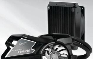 Arctic Accelero Hybrid Graphics Card Cooler Announced